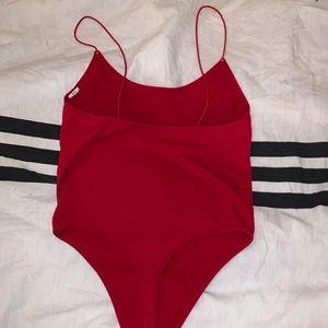 Forever 21 Tops - Red bodysuit